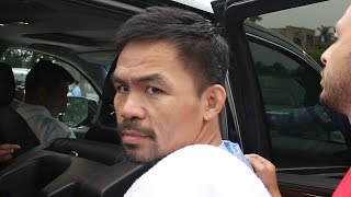 "MANNY PACQUIAO FIRES BACK AT THURMAN BETTING 10K ON KO ""THANK YOU FOR YOUR DONATION!"""