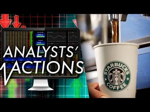 Analysts' Actions: Wall Street Firms Take a Hard Look at Starbucks, AT&T and InterContinental Hotels