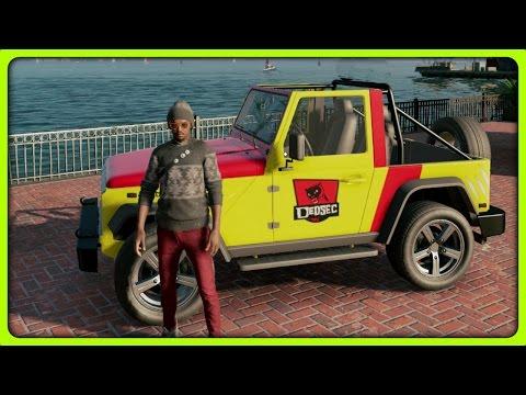 WATCH DOGS 2 SECRET CARS - MOUNTAIN KING (Watch Dogs 2 Hidden Vehicles)