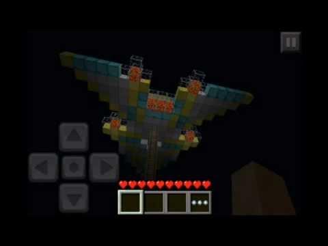 Minecraft PE airship!