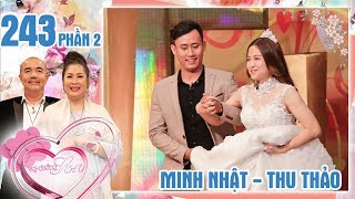The wife denounces her husband is addicted to her |  Minh Nhat - Thu Thao | VCS #243 😍