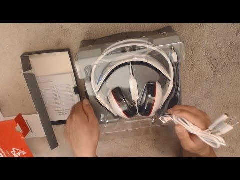 Asus Cerberus Unboxing/Review (Arctic White)   Xbox Gaming Headset