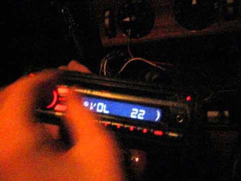 Sony CDX GT212.