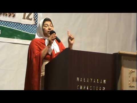 Malayalam Christian Church Power Speech By Sister Gracy Liverpool.mpg video