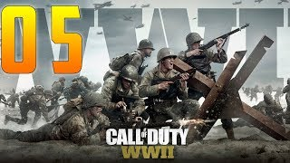 CALL OF DUTY WW2 Part 5 - Liberation - Campaign Mission 5 [COD World War 2]!