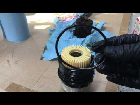 2010 Toyota Corolla Oil Change High Definition!!