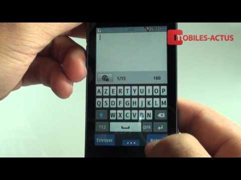 Samsung Wave 723 - Test et démonstration