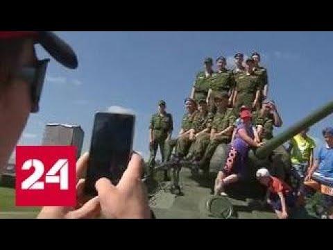 Россия стала сильнейшей в танковом биатлоне