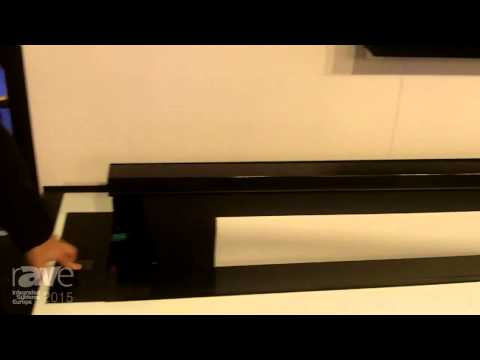 ISE 2015: Screen Research Exhibits In-Furniture Motorized Screen