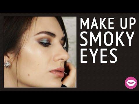 Коричневый макияж SMOKY EYES с пигментом INGLOT   Dasha Voice