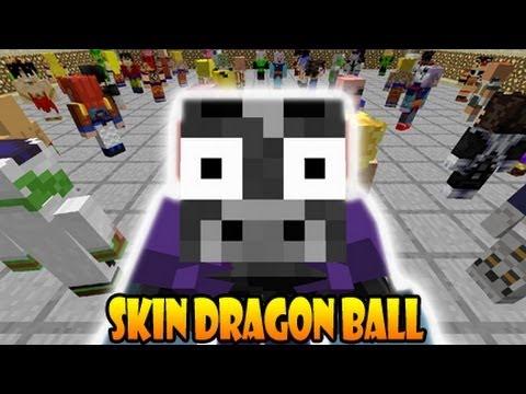 Minecraft   Pack de Skin de Dragon Ball [Premium/Nopremium]