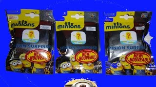 Minions Despicable Me 2 Blind Bag Opening Toys Figures From the New 2015 Movie Minion Jouets
