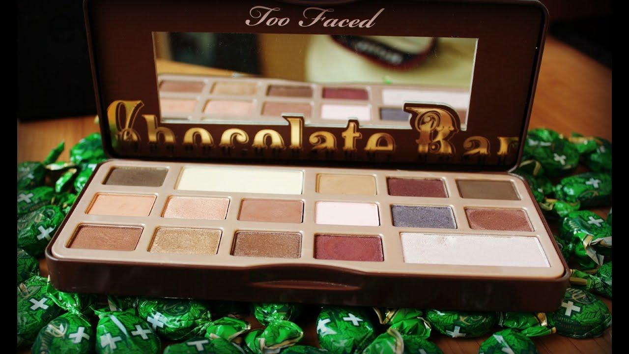 Детальный обзор Too Faced Chocolate Bar - YouTube