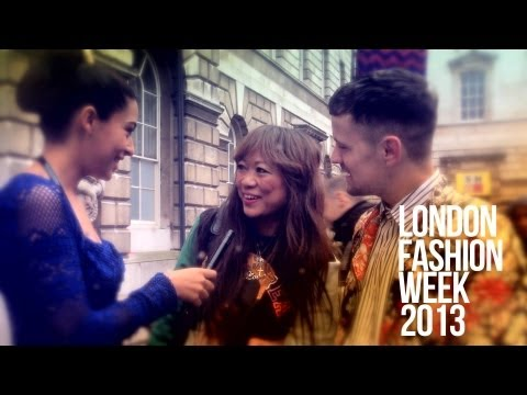 London Fashion Week Fall 2013 Interviews I Street Style I Day 2