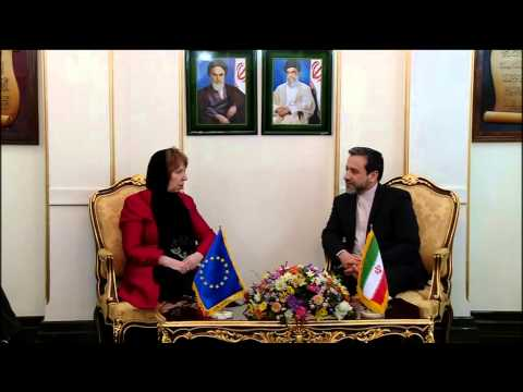 Catherine Ashton visits Iran   Meeting with Deputy Foreign Minister of Iran