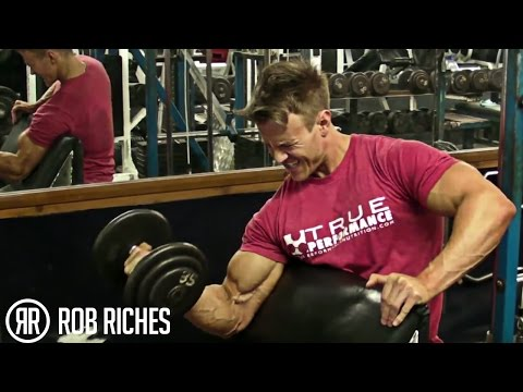 Rob Riches Biceps Workout