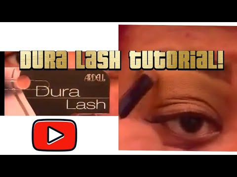 How to apply individual eyelash extensions