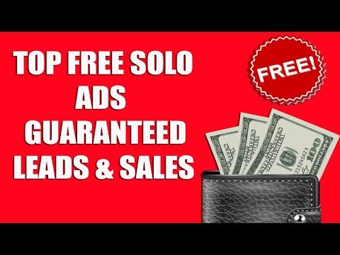 TOP FREE SOLO ADS GUARANTEED LEADS & SALES