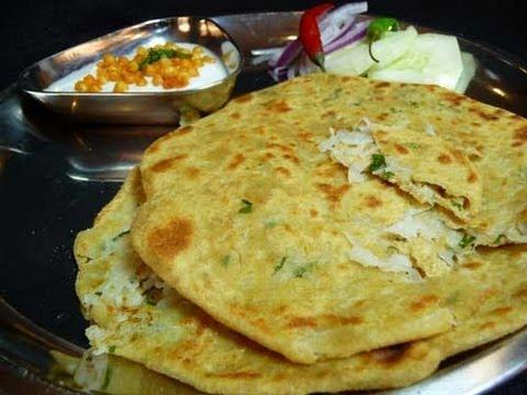 How To Make Muli Paratha - Radish Stuffed Indian Bread Recipe