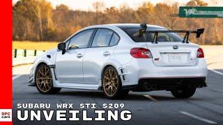 Subaru WRX STI S209 Unveiling