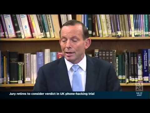 Abbott's Ponderous Position on Climate Change