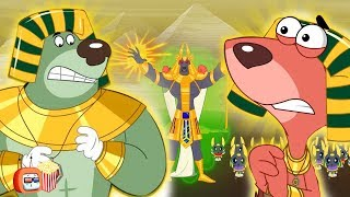 Rat-A-Tat Doggy Don in Egypt Full Movie! l Popcorn Toonz l Children's Animation and Cartoon Movies