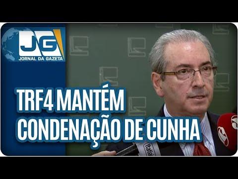 TRF4 mantém condenação de Cunha