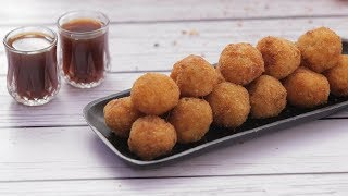 Crispy Rice Balls with Leftover Rice | How To Make Italian Arancini Balls | Quick & Easy Appetizer