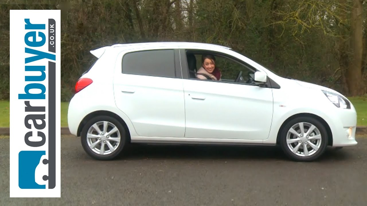 Mitsubishi Mirage hatchback 2013 review - CarBuyer - YouTube
