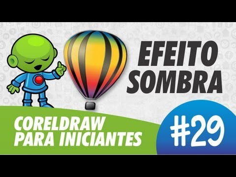 Efeito Sombra // CorelDRAW para Iniciantes #29