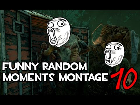 Dead by Daylight funny random moments montage 10