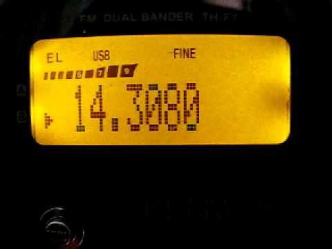 Kenwood TH-F7 SP DX Contest 2011 IZ0IWC 14 MHz.AVI