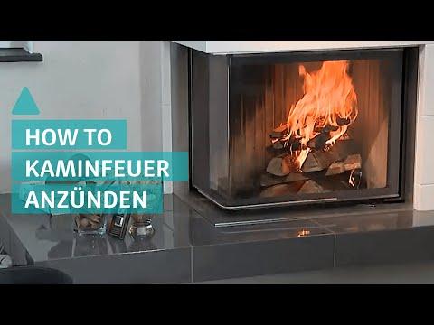 Kamin anzünden: Es wird kuschelig - Tipps für schnelles Kaminfeuer