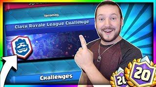 NEW 20 WIN CHALLENGE!! Clash Royale League Challenge