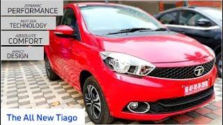 Tata Tiago Revotron XZ I Walkaround Review - 2019 Tata Tiago XZ Variant