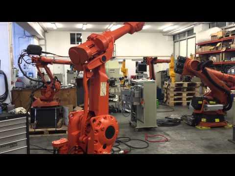 ABB Irb 2400 industrial robot