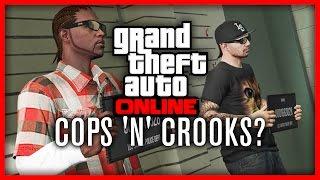 GTA V | Cops And Crooks Update? (Cops 'n' Crooks) | PS4, Xbox One & PC