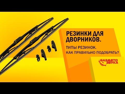 Резинки для дворников. Типы резинок. Как правильно подобрать? Обзор avtozvuk.ua