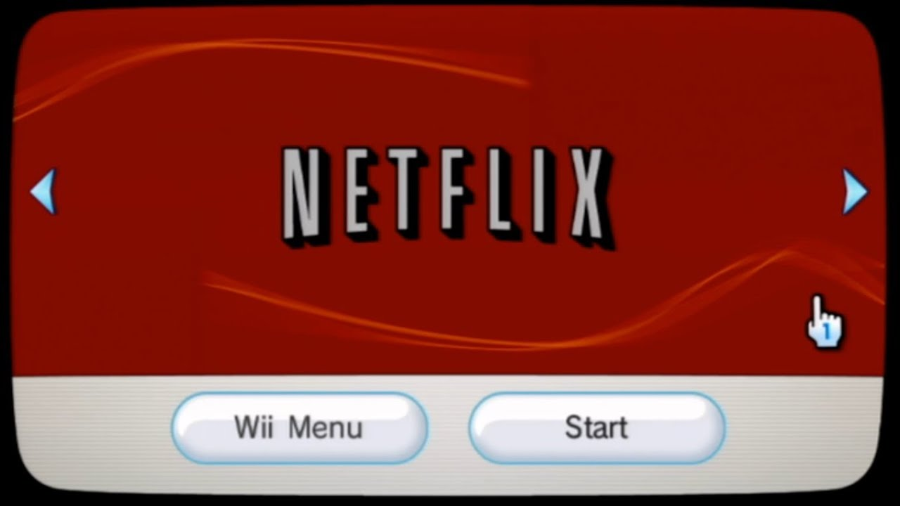 how to fix netflix on wii