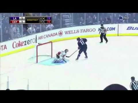 Anze Kopitar Shootout Goal (3/21/11) [HD]