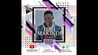 SceneOneTV Live Day 39 (Studio Takeover with Tobi Makinde aka Timini/Fever)