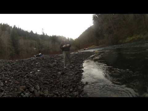 Wilson River Steelhead Fishing 2013