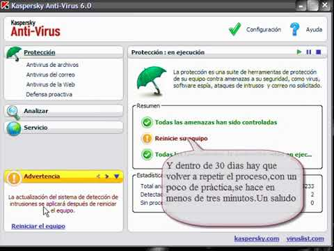 kaspersky antivirus 6  7 para siempre y gratis