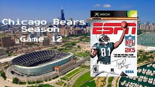 ESPN NFL 2K5 - Xbox - Chicago Bears - Season Game 12