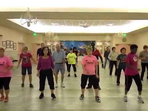 Uptown Funk Line Dance video