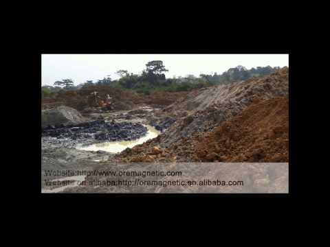Ghana alluvial gold mining ore transport