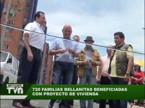 720 familias bellanitas se benefician del proyecto de vivienda Paisajes