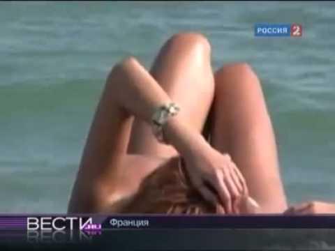 Скрытая камера на общественном пляже