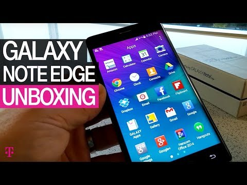 Samsung Galaxy Note Edge | T-Mobile Unboxing