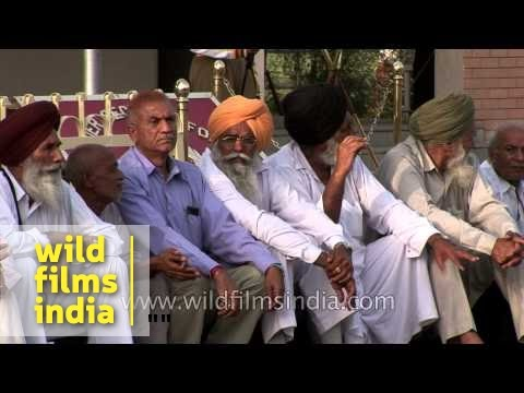 Independence day celebrations at Wagha border